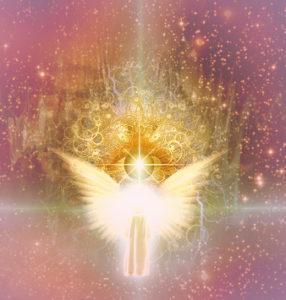 Bild: Auge mit Engelflügel