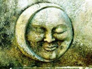 Bild: Sternenmond aus Stein
